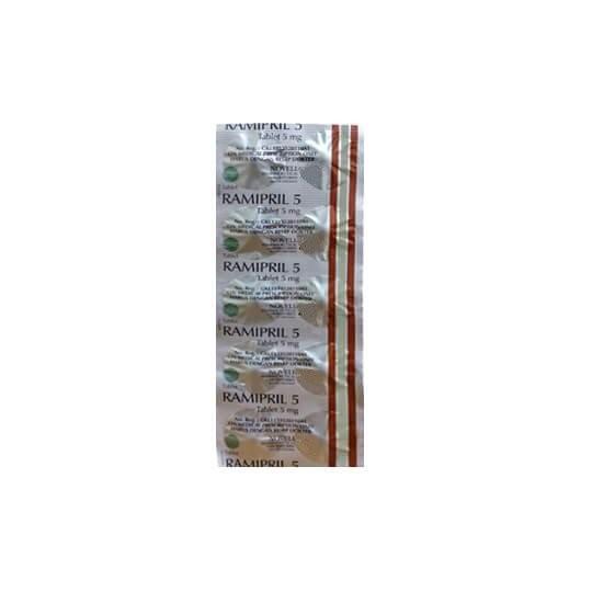 RAMIPRIL 5 MG 10 KAPLET - GriyaFarmaOnline