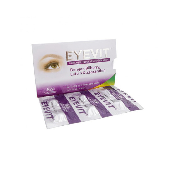 EYEVIT 6 TABLET - GriyaFarmaOnline