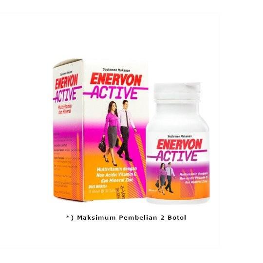 ENERVON C ACTIVE 30 TABLET - GriyaFarmaOnline