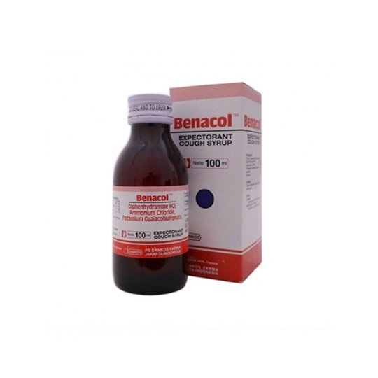 BENACOL EXPECTORANT SIRUP 100 ML - GriyaFarmaOnline
