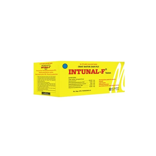 INTUNAL F 4 TABLET - GriyaFarmaOnline