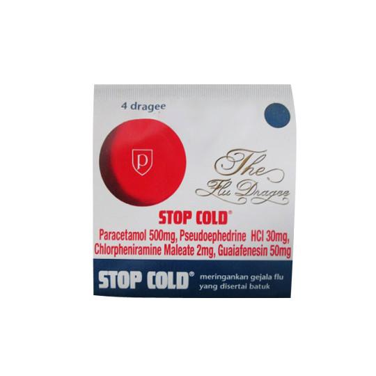 STOP COLD 4 TABLET - GriyaFarmaOnline