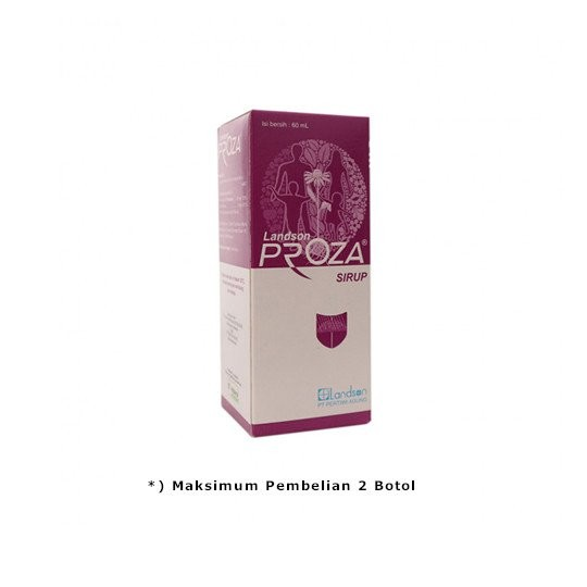 PROZA SIRUP 60 ML - GriyaFarmaOnline