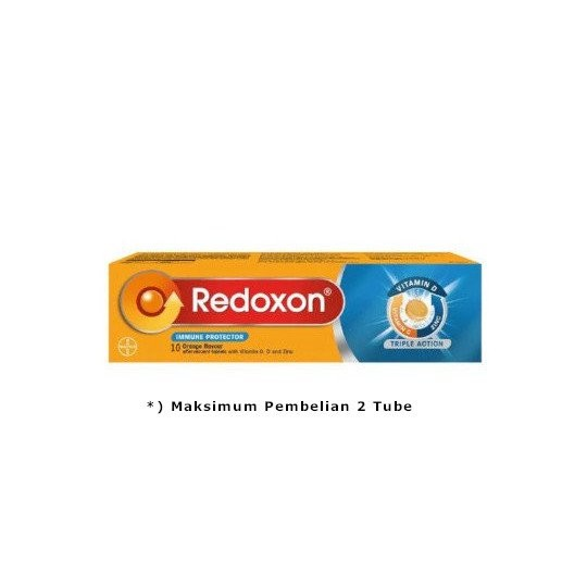 REDOXON TRIPLE ACTION EFFERVESCENT 10 TABLET - GriyaFarmaOnline