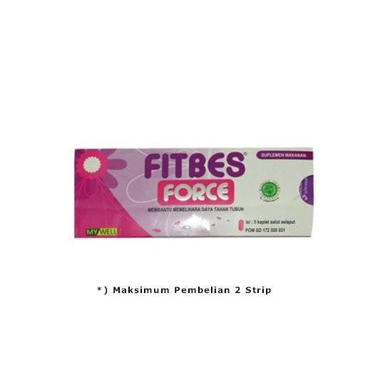 FITBES FORCE 5 TABLET - GriyaFarmaOnline