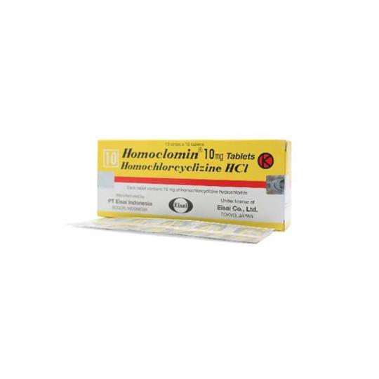 HOMOCLOMIN 10 MG 10 TABLET - GriyaFarmaOnline