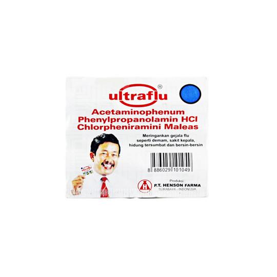 ULTRAFLU 4 TABLET - GriyaFarmaOnline