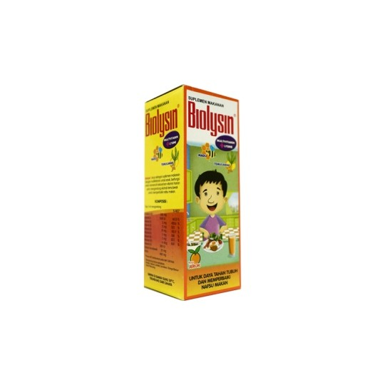 BIOLYSIN SIRUP 100 ML - GriyaFarmaOnline