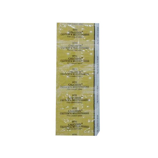 CALCIDIN 10 TABLET - GriyaFarmaOnline