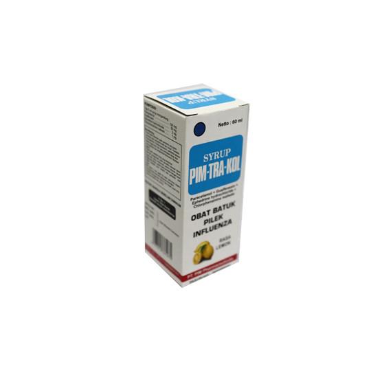 PIM-TRA-KOL PLUS SIRUP LEMON 60 ML - GriyaFarmaOnline