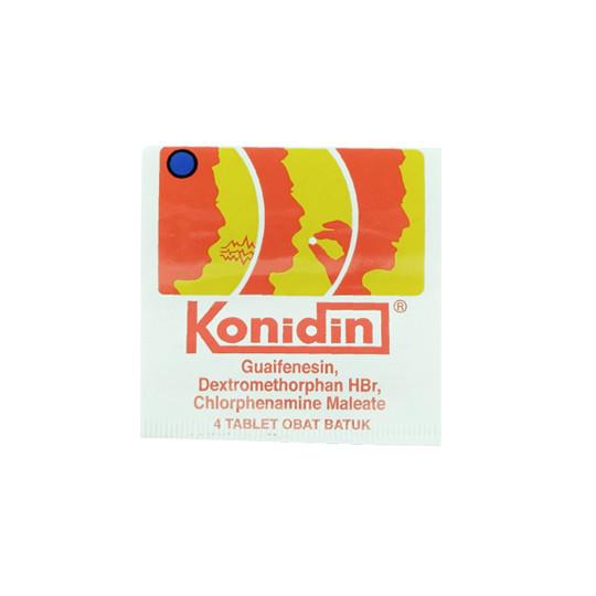 KONIDIN 4 TABLET - GriyaFarmaOnline