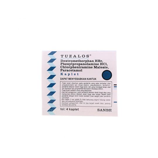 TUZALOS 4 KAPLET - GriyaFarmaOnline