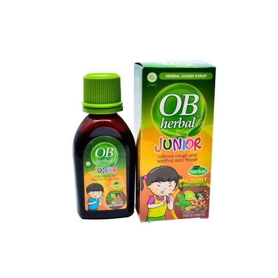 OB HERBAL JUNIOR SIRUP 60 ML - GriyaFarmaOnline