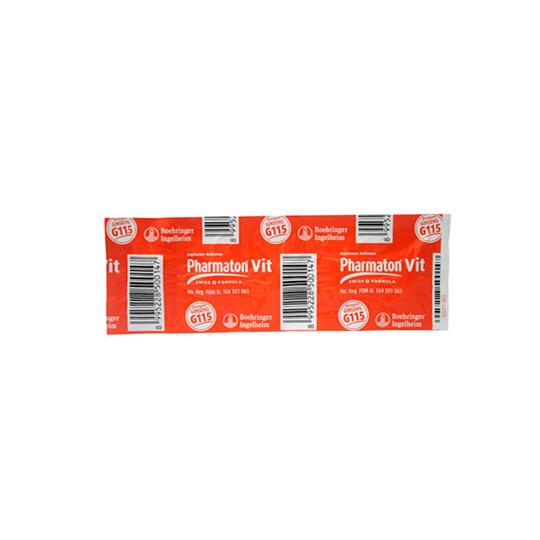 PHARMATON VIT 5 KAPLET - GriyaFarmaOnline