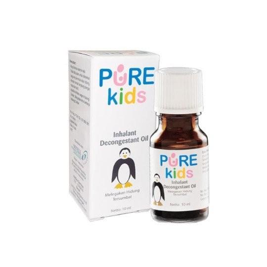 PURE KIDS INHALANT DECONGESTANT OIL 10 ML - GriyaFarmaOnline