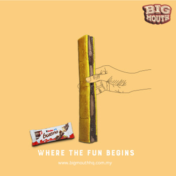 TELAPUK KUDA KITKAT - Big Mouth HQ