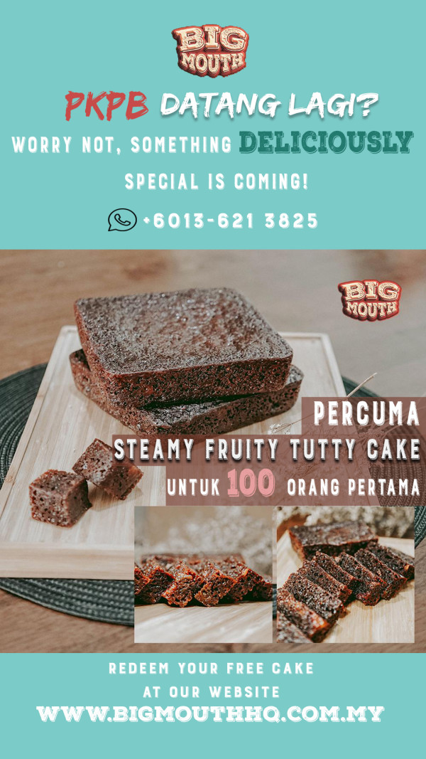 PERCUMA STEAMY FRUITY TUTTY CAKE - Big Mouth HQ