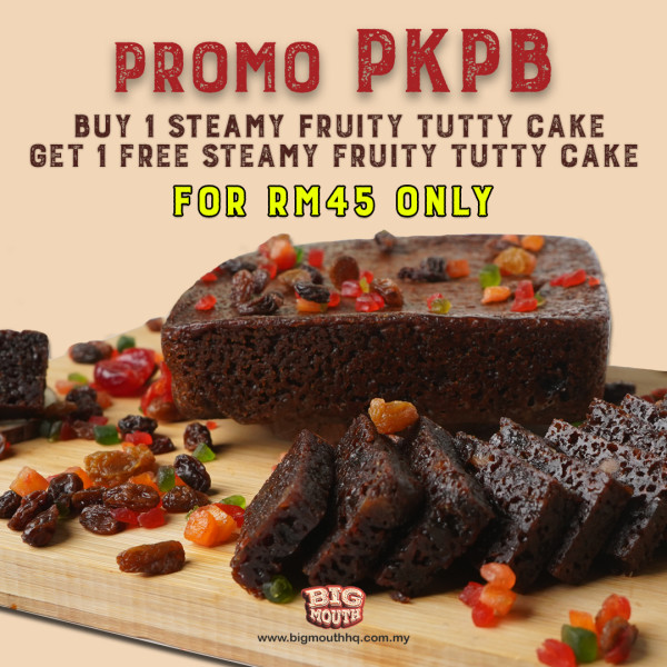 PROMO PKPB STEAMY FRUITY TUTTY CAKE - Big Mouth HQ
