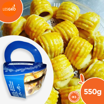 Keropok Keju (600g) - Wonder Cheese - Lesgro