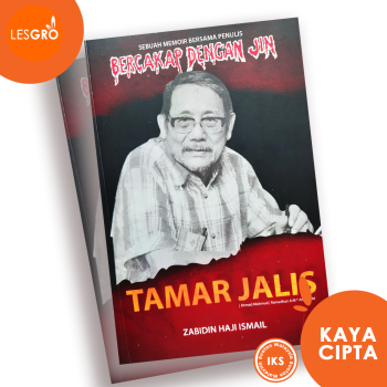 MEMOIR BERSAMA TAMAR JALIS (Penulis Siri Bercakap Dengan Jin) - Dr. Zabidin Haji Ismail