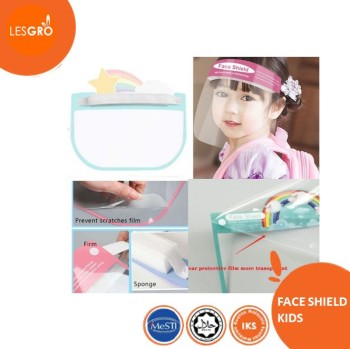 Face Shield Kids (Span) - KRTB Mart