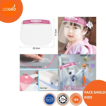 Face Shield Kids (Span PLAIN) - KRTB Mart