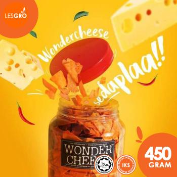 Keropok Keju (450g) - Wonder Cheese