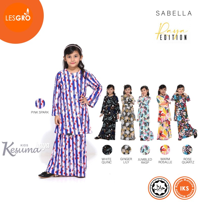 Kesuma Raya Kids (White Quince) - Sabella