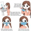 Face Mask Kids Cartoons 2 Box  - KRTB Mart  - Lesgro