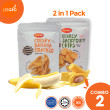 Banana Craker / Honey Jack Fruit (50g x 2) - Pakchips - Lesgro