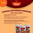 Rendang Ayam, rendang Daging & Ayam Masak Merah - Tapau - Lesgro
