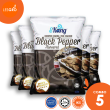 Keropok Segera Black Pepper (5x 50g) - Eekang - Lesgro