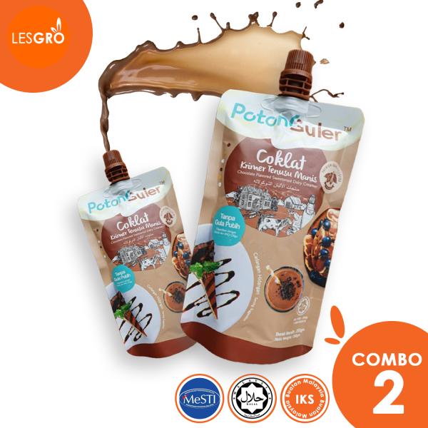 Coklat Krimer Tenusu Manis (250g) - Potonguler - Lesgro