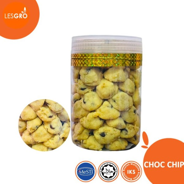 Biskut Raya Choc Chip - Lesgro
