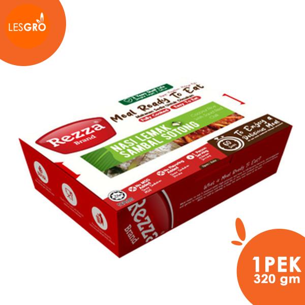 Nasi Lemak Sambal Sotong - Rezza Brand - Lesgro