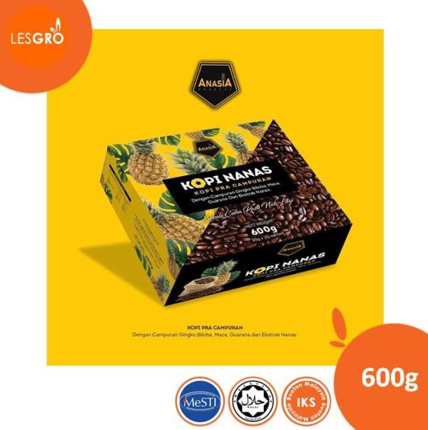Anasia Kopi Nanas   30 gram x 20 sachet - Lesgro