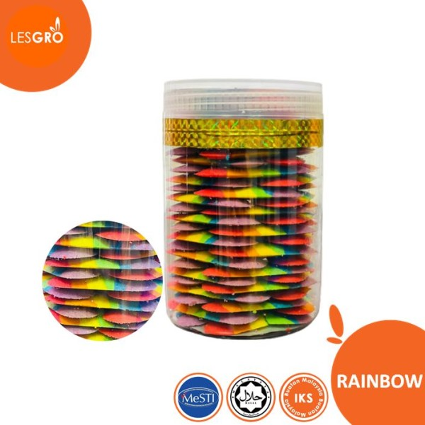 Biskut Raya Rainbow   - Lesgro