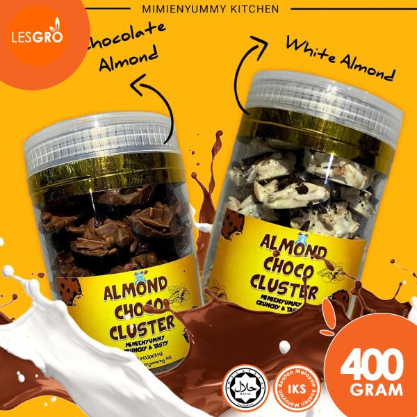 Almond Choco Cluster (400g) - Mimienyummy - Lesgro