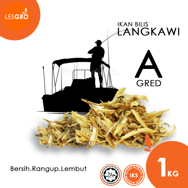 Ikan Bilis Langkawi (1kg) - ByGro - Lesgro