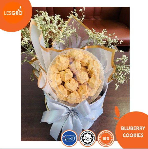 Biskut Blueberry Cookies - KRTB MART - Lesgro