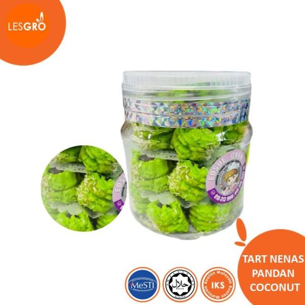 Tart Nenas Pandan Coconut - Lesgro