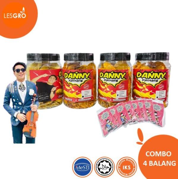 Combo Danny Kentang 100%  - Lesgro