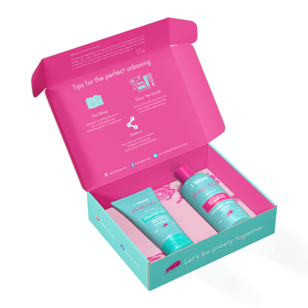 Preety Hair Healthy Hair Nourishing Kit - Singapore - Preety Enterprise