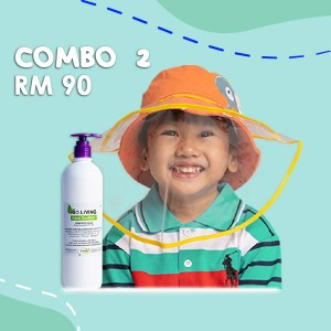 Combo 2 Face Shield + Hand Sanitizer (500ml)