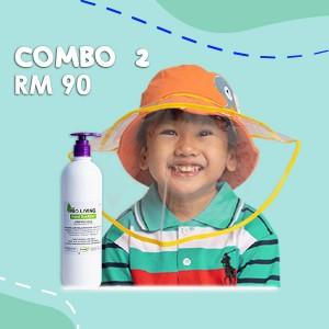 Combo 2 Face Shield + Hand Sanitizer (500ml) - MGOS.shop