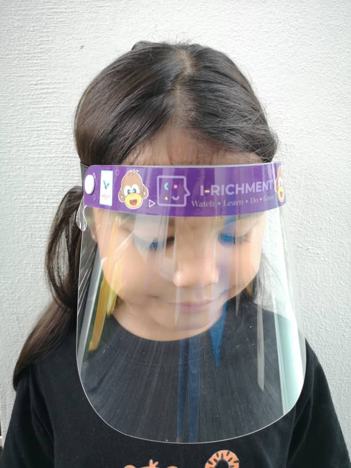 Face Shield Kids Size S (10 years and below)