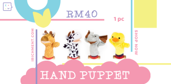 HAND PUPPET - 1 PC