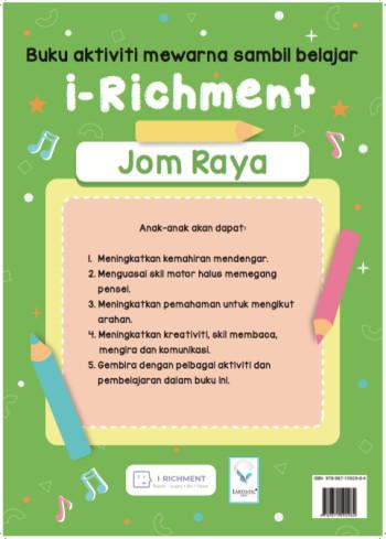 Buku Aktiviti Raya irichment