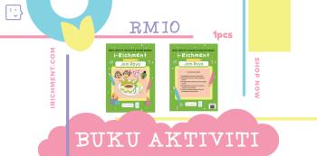 BUKU AKTIVITI IRICHMENT - 1 PCS