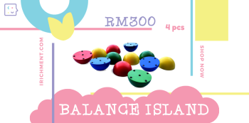 BALANCING ISLAND - 4 PCS
